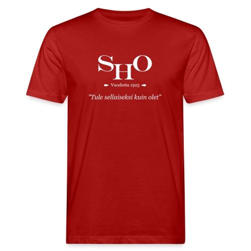 SHO - Tule sellaiseksi kuin olet - Miesten luonnonmukainen t-paita