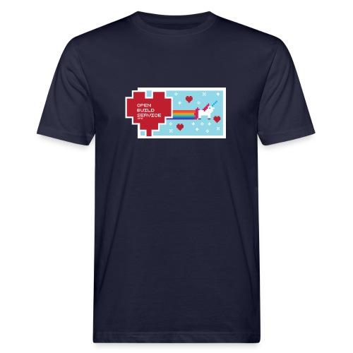 OBS Unicorn - Men's Organic T-Shirt