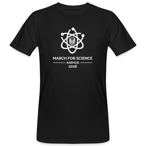 March for Science Aarhus 2018 - Men's Organic T-Shirt