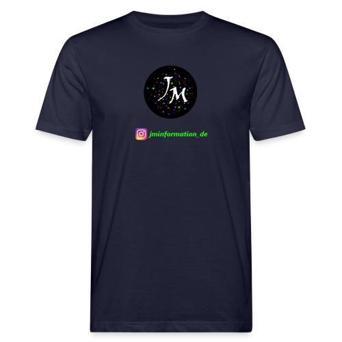 jminformation-Logo - Männer Bio-T-Shirt