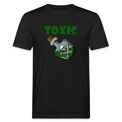 Toxic Gaming - Männer Bio-T-Shirt