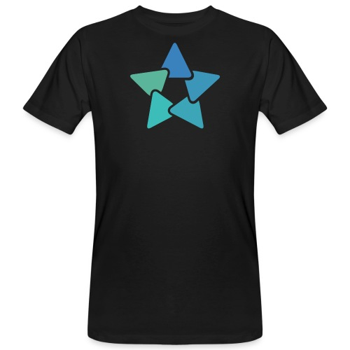 4 HighRes trans 2 png - Männer Bio-T-Shirt