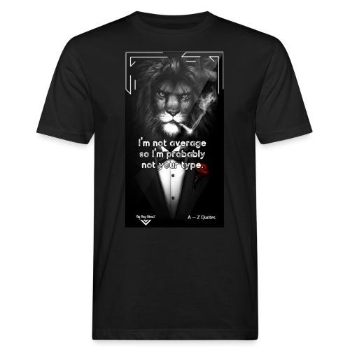Motivational Quote Clothes Motivation - Ekologisk T-shirt herr