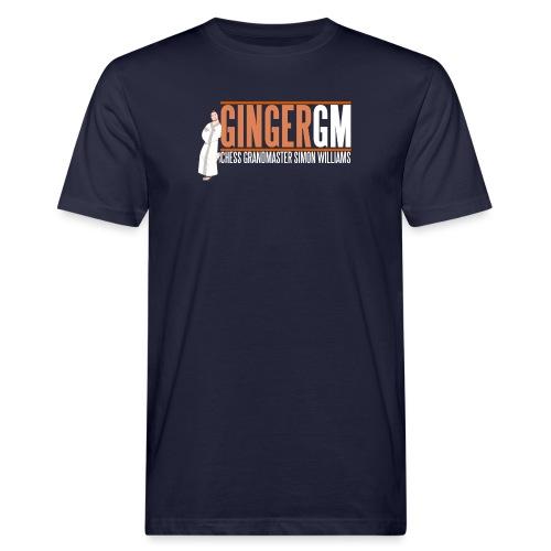 Ginger GM White Logo - Men's Organic T-Shirt