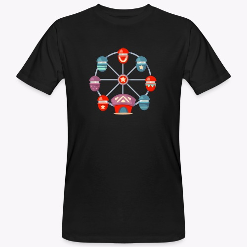 Ferris Wheel - Men's Organic T-Shirt