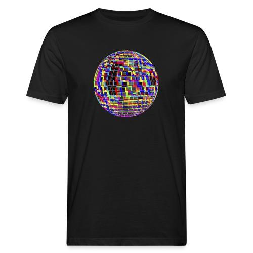 Boule à facettes psychédélique - T-shirt bio Homme