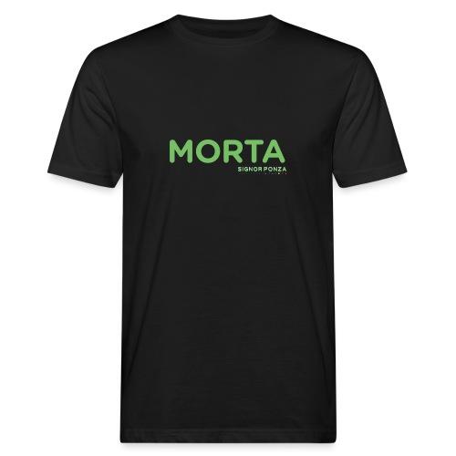 MORTA - T-shirt ecologica da uomo