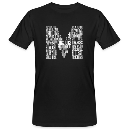 MOKTORIOUS CLOTHING - M - WHITE - Männer Bio-T-Shirt