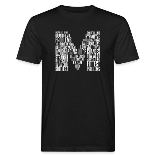 MOKTORIOUS CLOTHING - M - WHITE - Männer Bio-T-Shirt