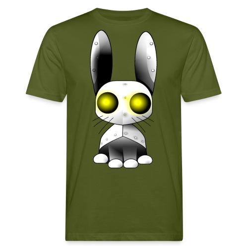 robotkanin med gula ögon - Men's Organic T-Shirt