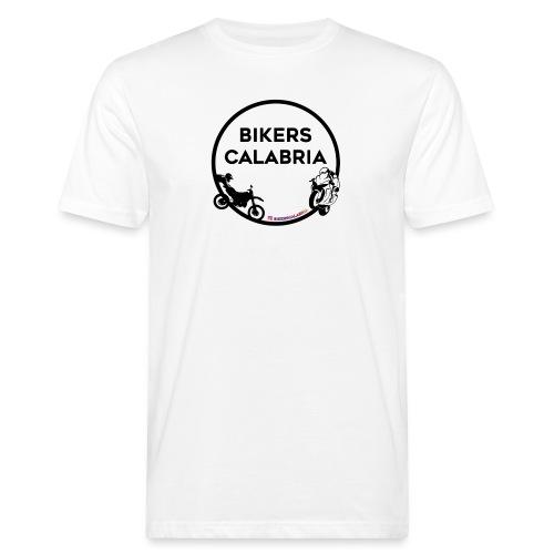 Logo con prodotto nero - T-shirt ecologica da uomo