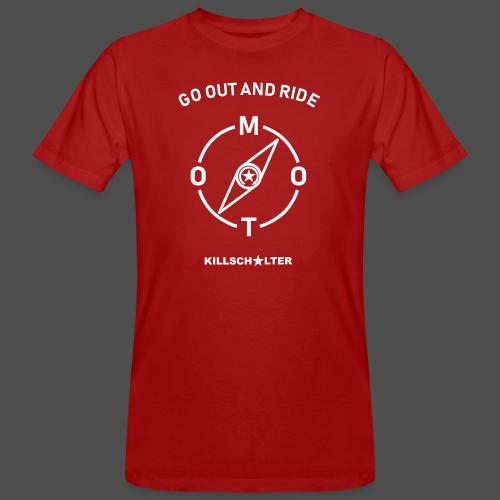 ride moto compass - Men's Organic T-Shirt