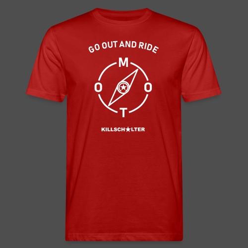 ride moto kompass - Männer Bio-T-Shirt