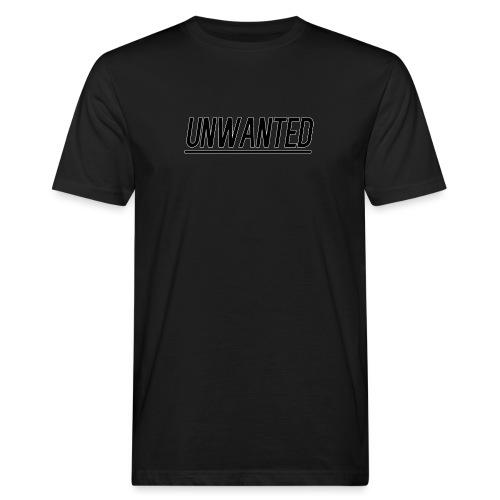 UNWANTED Logo Tee Black - Men's Organic T-Shirt