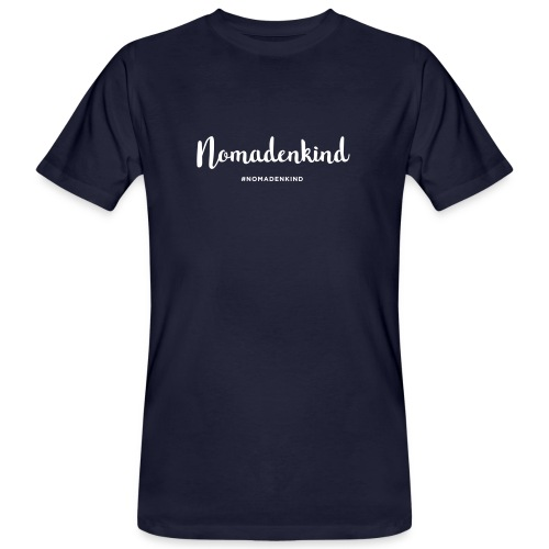 Nomadenkind by Solonomade - Männer Bio-T-Shirt