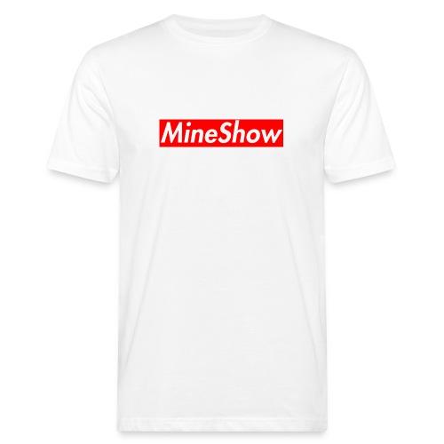 MineShow Box-Logo - Männer Bio-T-Shirt