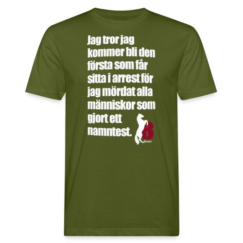 HorseBook line - Ekologisk T-shirt herr