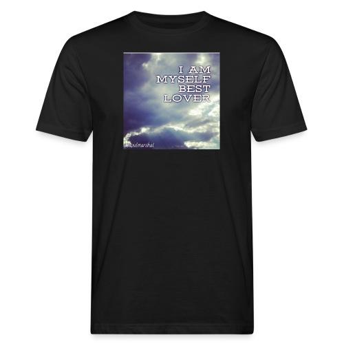 I Am Myself best Lover - Miesten luonnonmukainen t-paita
