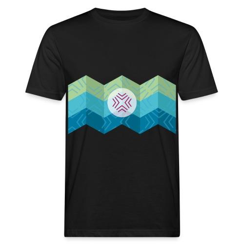 Kreuz - Männer Bio-T-Shirt