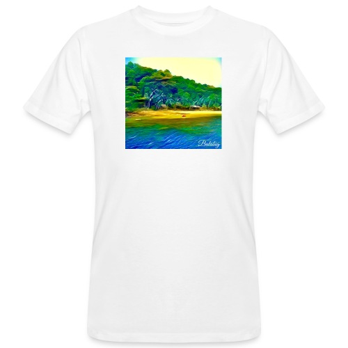 Tropical beach - T-shirt ecologica da uomo