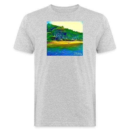 Tropical beach - T-shirt ecologica da uomo
