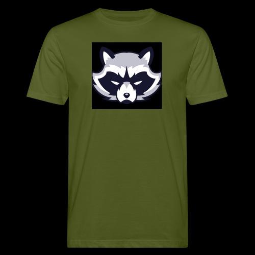 WaschbeerKopf Logo :) - Männer Bio-T-Shirt