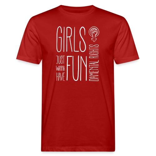 Girls just wanna have fundamental rights - Männer Bio-T-Shirt
