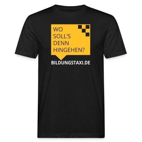 Wo soll's denn hingehen? - Männer Bio-T-Shirt