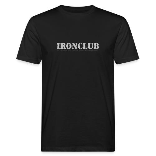 IRONCLUB - a way of life for everyone - Økologisk T-skjorte for menn