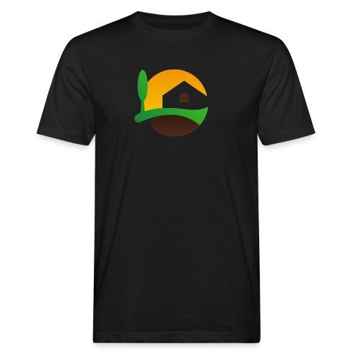 Neues Logo ohne Schriftzug - Männer Bio-T-Shirt