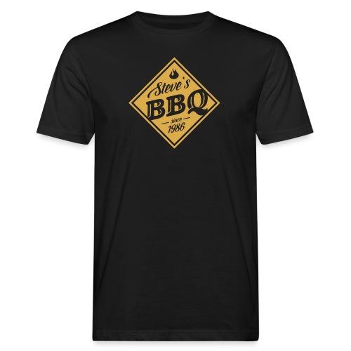 Steve`s BBQ - Männer Bio-T-Shirt