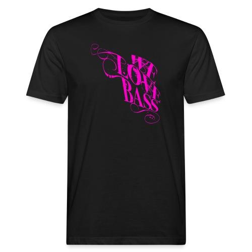 welovebass10 - Männer Bio-T-Shirt