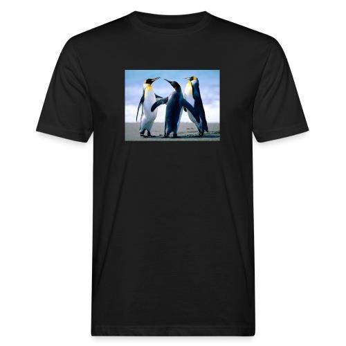 Penguins - T-shirt ecologica da uomo