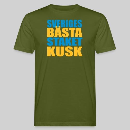 Sveriges bästa staketkusk! - Ekologisk T-shirt herr