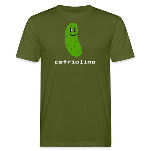 8-bit Pickle (Dark T-Shirt) - T-shirt ecologica da uomo