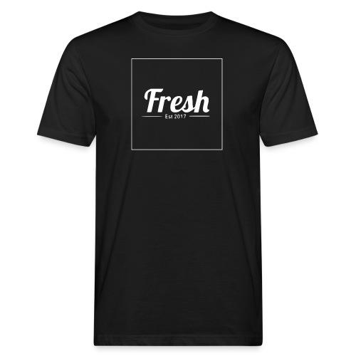 white square - Men's Organic T-Shirt