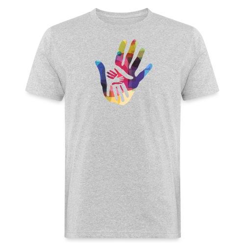logo_storien - Økologisk T-skjorte for menn