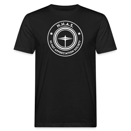 H.H.A.S. T-shirt w. logo - Ekologisk T-shirt herr