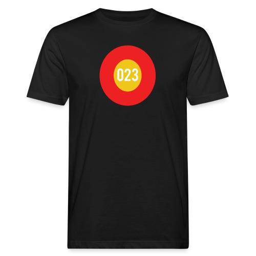 023 logo - Mannen Bio-T-shirt