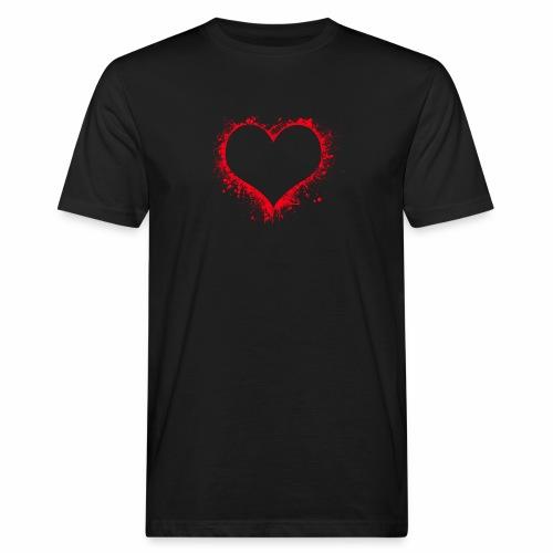 Love you - Männer Bio-T-Shirt