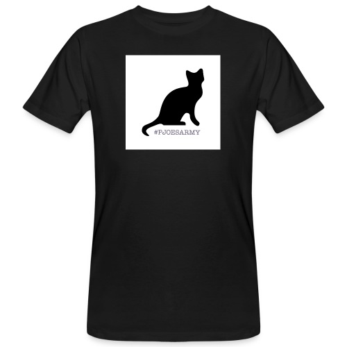 #pjoesarmy met poes - Mannen Bio-T-shirt