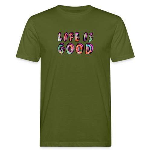 LifeIsGood - Men's Organic T-Shirt