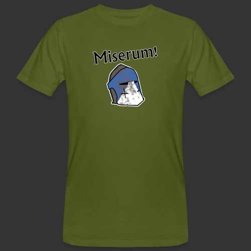Warden Cytat Miserum! - Ekologiczna koszulka męska