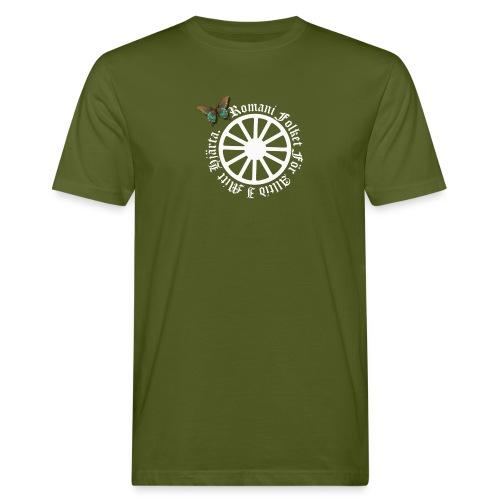 LennyhjulRomaniFolketivitfjerli - Ekologisk T-shirt herr