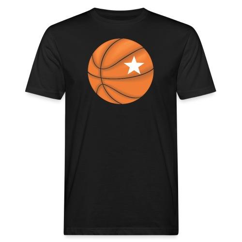 Basketball Star - Mannen Bio-T-shirt