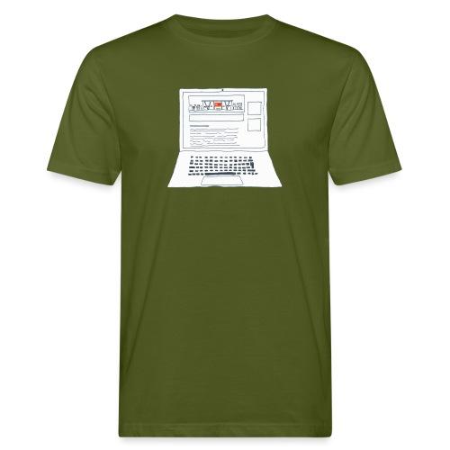 Laptop 20CENT Retail - T-shirt bio Homme