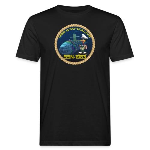 Command Badge SSN-1983 - Men's Organic T-Shirt