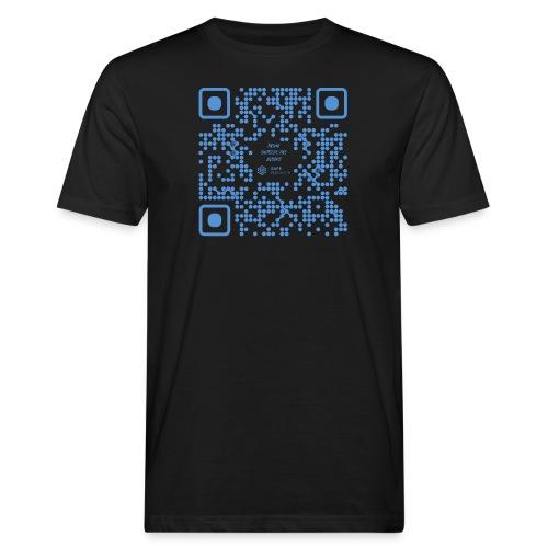 QR The New Internet Shouldn t Be Blockchain Based - Men's Organic T-Shirt