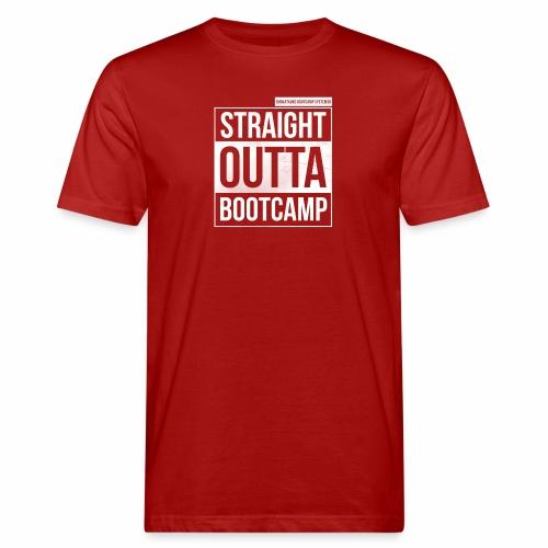 Suoraan Bootcampilta - Miesten luonnonmukainen t-paita