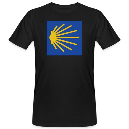 Muschel Wegweiser - Männer Bio-T-Shirt